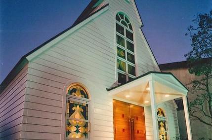 葦水堂(広島県福山市、教会、1994年、木造平屋)
