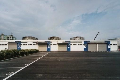三協興産産業廃棄物処理施設(2004年、工場・事務所、S1F他、神奈川県川崎)