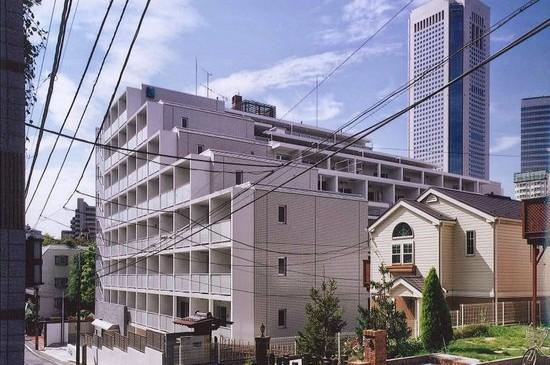 ヒューリックレジデンス参宮橋(2007年、RC8F、渋谷区、集合住宅)