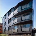 異人坂館(文京区、RC4F、1999年、集合住宅)